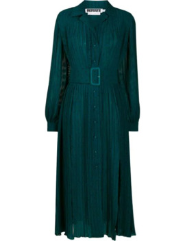 Belted Shirt Dress by Rotate