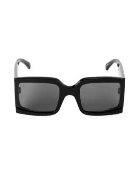 60 Mm Square Sunglasses by Celine