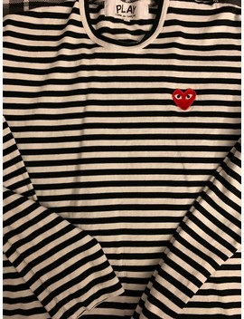 Striped Long Sleeve by Comme Des Garcons  ×  Comme Des Garcons Play  ×