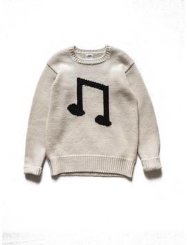 Fw14 Music Note Sweater by Visvim  ×