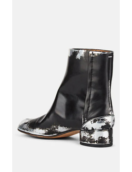 Women's Tabi Leather Boots by Maison Margiela