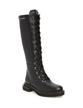 Netta Tall Combat Boot by Calvin Klein Jeans