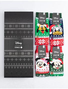 Stance Disney Claus Crew Socks Box Set by Stance