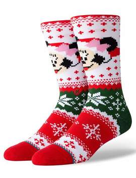 Stance Minnie Claus Crew Socks by Stance
