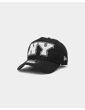 New Era New York Yankees Varsity 9 Forty K Frame Snapback Navy by New Era