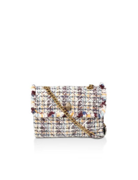 Tweed Lg Kensington X Bag Shoulder Bags by Kurt Geiger London