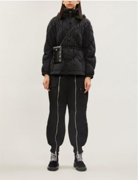 Slim Fit Detachable Hood Shell Coat by Emporio Armani
