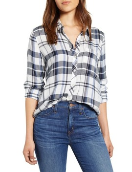 Classic One Pocket Plaid Shirt by Lucky Brand