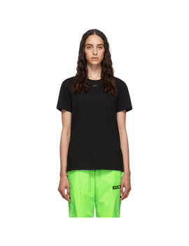 Black Shifted T Shirt by Off White
