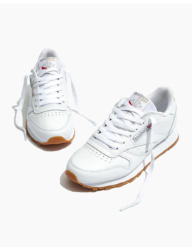 Reebok® Classic Sneakers In White Leather by Madewell