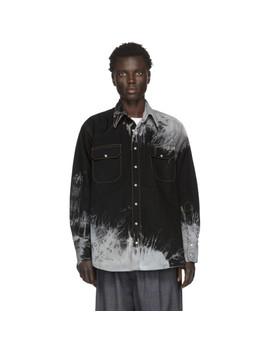 Black Dye Western Shirt by Matthew Adams Dolan