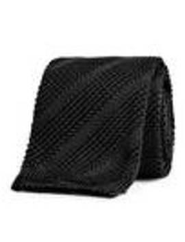 Knitted Silk Tie by Arket