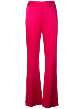 High Waisted Flared Trousers by Adeam