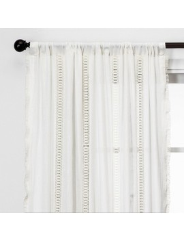 Lace Trim Light Filtering Curtain Panels   Opalhouse™ by Shop This Collection