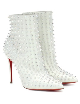 Exclusive To Mytheresa – Snakilta 100 Leather Ankle Boots by Christian Louboutin