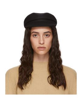 Black Wool Evie Cap by Isabel Marant