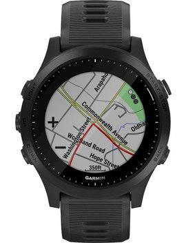 Forerunner 945 Gps Heart Rate Monitor Running Smartwatch   Black by Garmin
