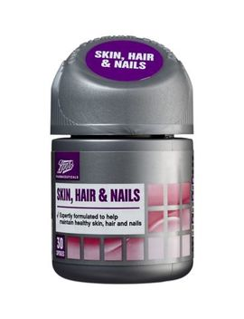 Boots Skin, Hair & Nails 30 Capsules by Boots Pharmaceuticals