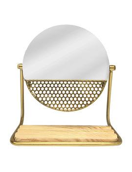 9 X9 .In. Circlegold Mirror9 X9 .In. Circlegold Mirror by At Home