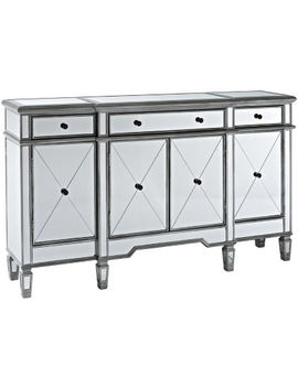 Hayworth Mirrored Console Table by Asstd National Brand