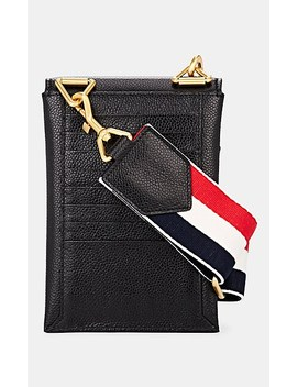 Envelope Leather Crossbody Pouch by Thom Browne
