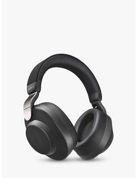 Jabra Elite 85h Active Noise Cancelling Wireless Bluetooth Over Ear Headphones With Mic/Remote, Titanium Black by Jabra