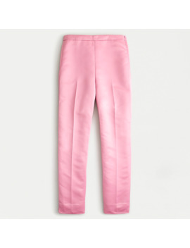 High Rise Cigarette Pant In Satin by J.Crew