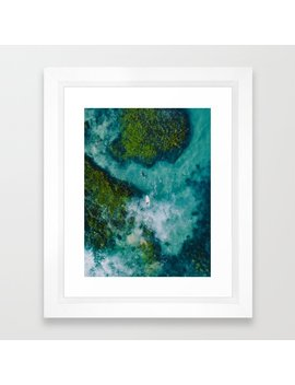 Australian Coast Framed Art Print by Society6