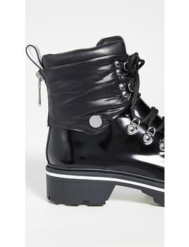 Macre Combat Boots by Sigerson Morrison
