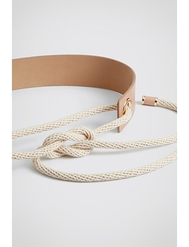 Halle Leather Belt by Witchery