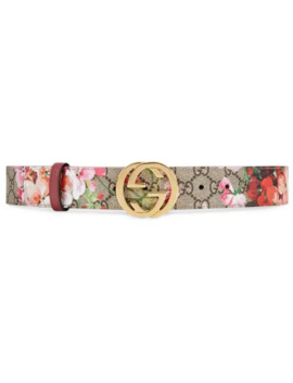 Gg Blooms Belt by Gucci