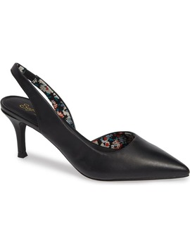 Ornament Slingback Pump by Seychelles