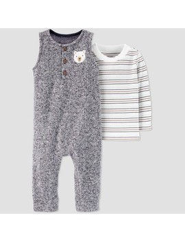 Baby Boys' 2pc Bear Romper & Shirt Set   Just One You® Made By Carter's Gray/White by Just One You Made By Carter's