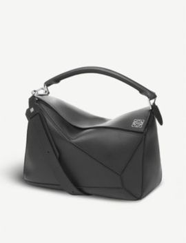 Puzzle Large Leather Shoulder Bag by Loewe