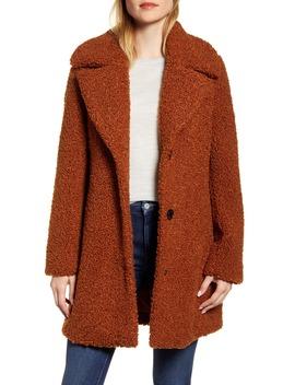 Faux Fur Teddy Coat by Sam Edelman