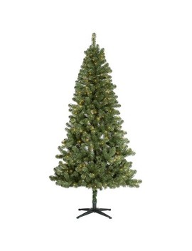 7ft Pre Lit Artificial Christmas Tree Alberta Spruce Clear Lights   Wondershop™ by Wondershop