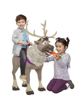 Playdate Sven Kid Size Feature Sven From Disney Frozen 2 With Working Sound Effects And Interactive Carrot by Disney Frozen 2