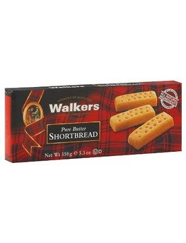 Walkers Shortbread Pure Butter Cookies   5.3oz by Walkers