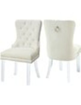 Everly Quinn Clovis Upholstered Dining Chair by Wayfair