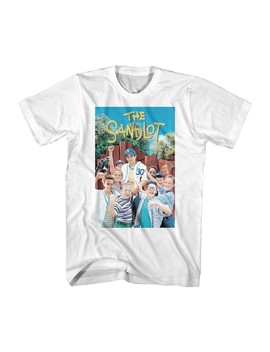 Sandlot Baseball Movie Color Cast Tom Guiry Poster Adult T Shirt Tee by The Sandlot