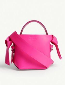 Musubi Micro Leather Bag by Acne Studios