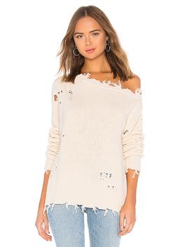 Jill Sweater In Ivory by Lovers + Friends