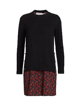 Coach 1941 Horse & Carriage Print Sweater Dress by Coach
