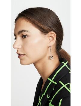 Pendant Arrow Earrings by Off White