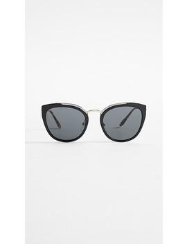 Pr 20 Us Cat Eye Sunglasses by Prada