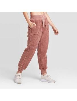 Women's High Rise Sherpa Pants   Joy Lab™ by Joy Lab