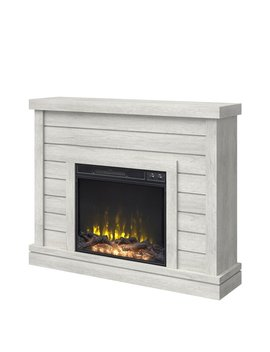 Sargent Oak Shoalhaven Electric Fireplace by Breakwater Bay