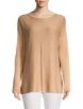 Boatneck Pullover Top by Context