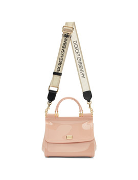 Pink Rubber Sicily Bag by Dolce & Gabbana