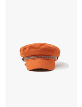 Metal Trim Cabbie Hat by Forever 21